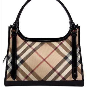 Burberry Ashmore Super Nova Patent Bag